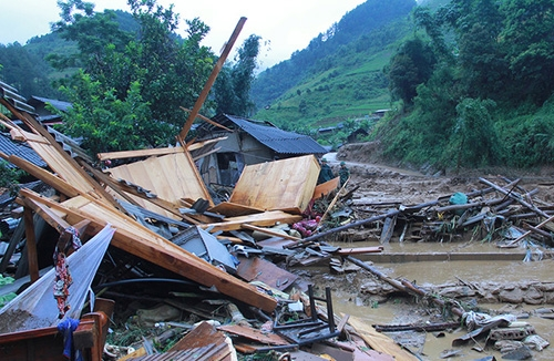 thiệt hại vì mưa lũ, mưa lũ