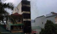 cháy lớn ở Hà Nội, cháy nhà 5 tầng, hỏa hoạn tại hà nội