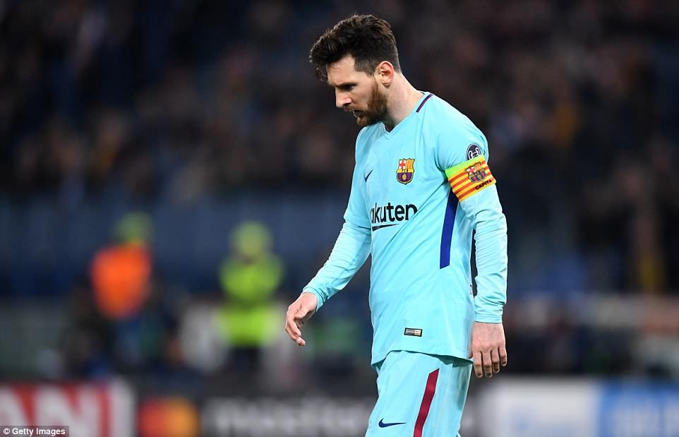 Barca thua thảm vì quá dựa dẫm vào Messi