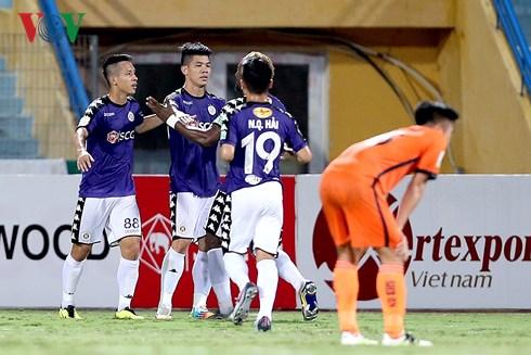 hà nội FC đại thắng taih vòng 15 V-league