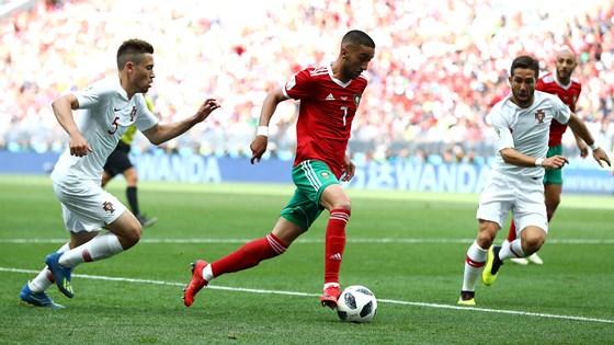 Morocco có nhiều cơ hội nhưng không thể ghi bàn