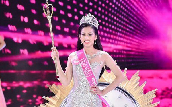 ngôi vị Hoa hậu Việt Nam 2018 đã chính thức gọi tên Trần Tiểu Vy