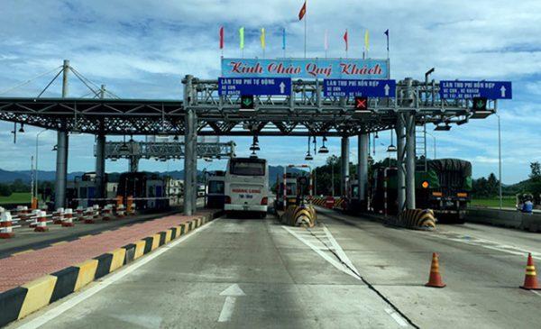 Trạm BOT Bắc Bình Định dừng thu phí vì chậm sửa đường