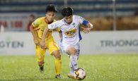 Công Phượng bị treo giò ở vòng 25 V-League 2018