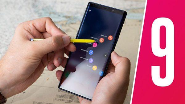 Tính năng trên Samsung Galaxy Note 9