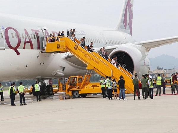 Qatar Airways khai trương đường bay tới Đà Nẵng