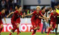 Với việc vào tứ kết, tuyển Việt Nam được thưởng nóng tiền tỷ