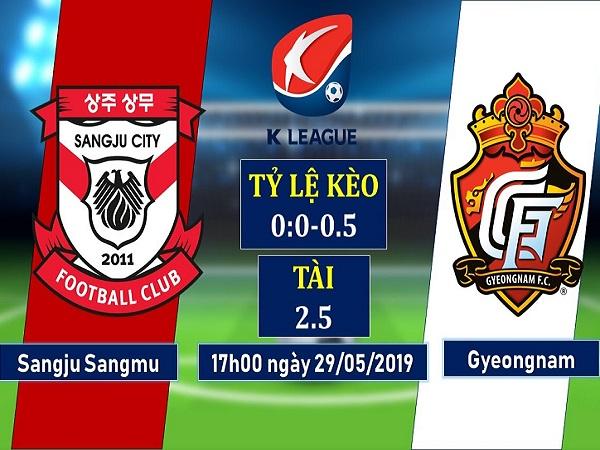Nhận định Sangju Sangmu vs Gyeongnam, 17h ngày 29/5