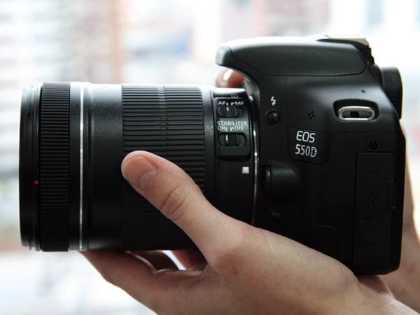 Canon 550d và những tính năng phù hợp với mọi người