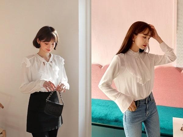Bộ sưu tập 10 mẫu áo sơ mi nữ công sở đẹp mê mẩn hè 2019
