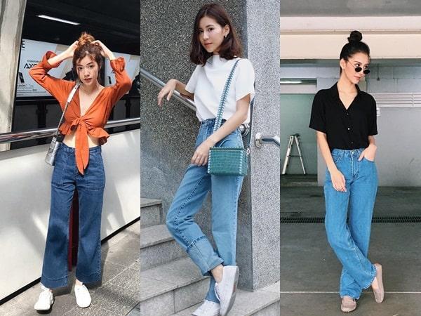Học cách phối đồ với quần jeans như các hot fashionista
