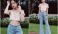 6 cách phối đồ đi chơi với quần jean đơn giản mà đẹp