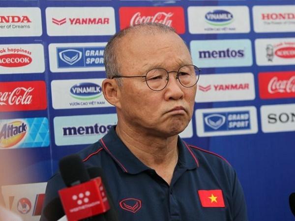 Vì sao HLV Park Hang Seo cấm học trò tiết lộ kết quả trận đấu tập?