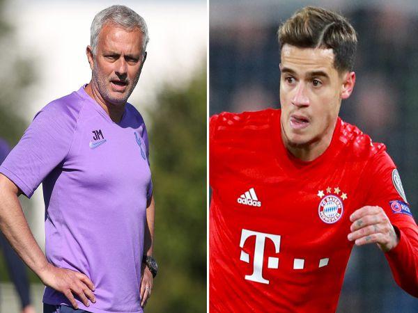 Mourinho quyết tâm kéo Coutinho về Tottenham