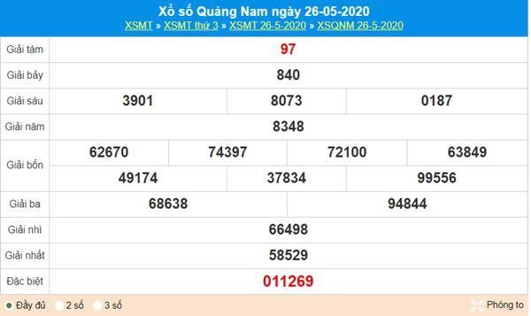 Soi cầu XSQNM 2/6/2020 thứ 3 nhanh và chuẩn xác nhất