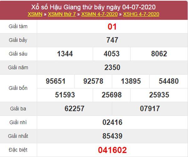 Soi cầu KQXS Hậu Giang 11/7/2020 cùng các siêu cao thủ