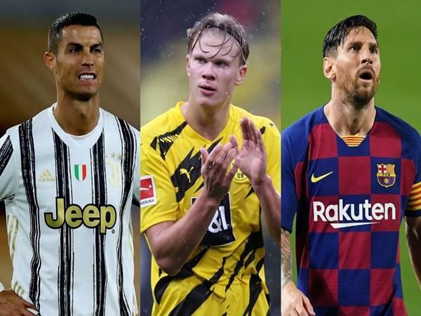 Bóng đá QT 23/3: Haaland nói gì khi được so sánh với Ronaldo, Messi