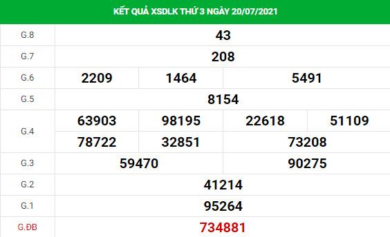 Phân tích XSDLK ngày 10/8/2021 hôm nay thứ 3 chính xác